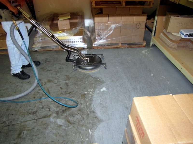 How to clean cement floor tiles thefloors co for How to wash concrete floors