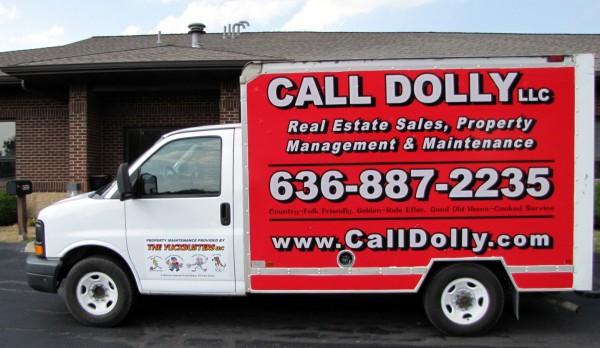 Property maintenance service truck Wentzville MO